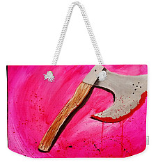 The Axe Of God  Weekender Tote Bag