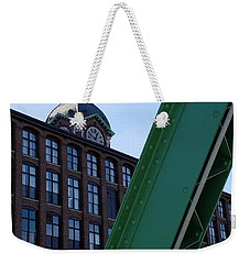 The Ayer Mill And Clock Tower Weekender Tote Bag