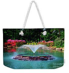 The Azalea Pond At Honor Heights Park Weekender Tote Bag