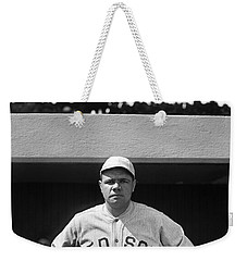 The Babe - Red Sox Weekender Tote Bag by International  Images