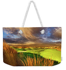 The Back Nine Weekender Tote Bag by Phil Koch