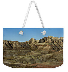 The Bad Lands Weekender Tote Bag