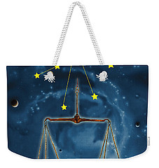 The Balance Of The Universe Weekender Tote Bag