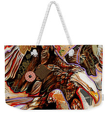 The Bald Eagle Weekender Tote Bag