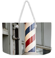 The Barber Shop 4 Weekender Tote Bag by Angelina Vick