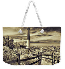 The Barnegat Lighthouse New Jersey Weekender Tote Bag