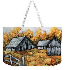 The Barns Weekender Tote Bag