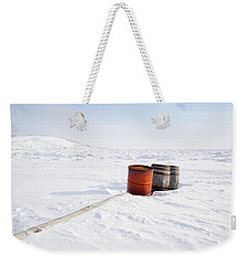 The Barrels Weekender Tote Bag by Nick Mares