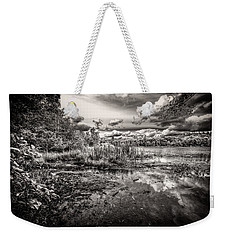The Basin And Snails Weekender Tote Bag by Bob Orsillo