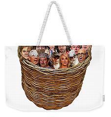 Chapter 4 The Basket Weekender Tote Bag by Joe  Palermo