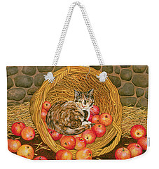 The Basket Mouse Weekender Tote Bag by Ditz