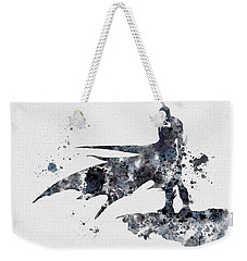The Bat Weekender Tote Bag by Rebecca Jenkins