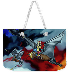The Bat Riders Weekender Tote Bag