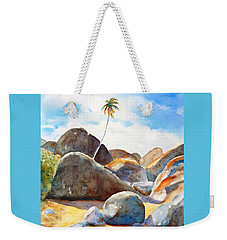 The Baths Palm Tree Weekender Tote Bag