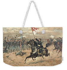 The Battle Of Cedar Creek Virginia Weekender Tote Bag