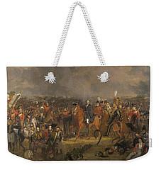 The Battle Of Waterloo,1824 Weekender Tote Bag