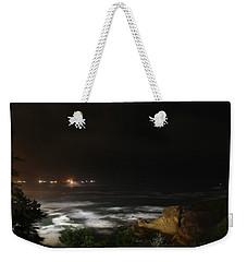 The Bay At Night Weekender Tote Bag
