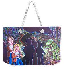 The Bay Road Swamp Monster Weekender Tote Bag