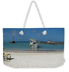 The Beach Weekender Tote Bag by David and Lynn Keller