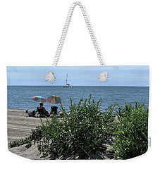 Weekender Tote Bag featuring the photograph The Beach by John Scates
