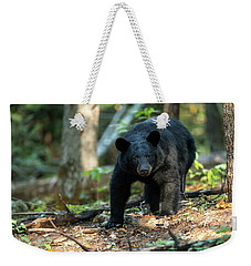 Weekender Tote Bag featuring the photograph The Bear by Everet Regal