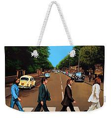 The Beatles Abbey Road Weekender Tote Bag by Paul Meijering