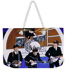 The Beatles - Live On The Ed Sullivan Show Weekender Tote Bag