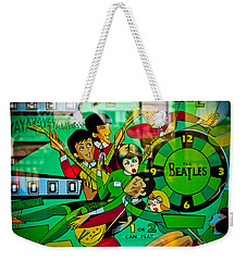 The Beatles - Pinball Art Weekender Tote Bag