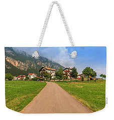 Weekender Tote Bag featuring the photograph The Beautiful Dolomites by Roy McPeak