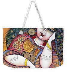 The Beauty Weekender Tote Bag by Albena Vatcheva