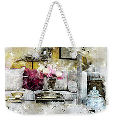 The Beauty In The Street Weekender Tote Bag