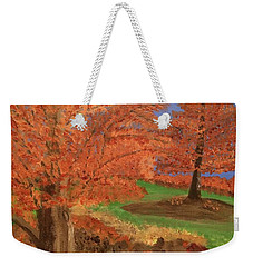 The Beauty Of Autumn  Weekender Tote Bag