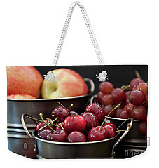 The Beauty Of Fresh Fruit Weekender Tote Bag