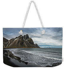 Weekender Tote Bag featuring the photograph The Beauty Of Iceland by Sandra Bronstein