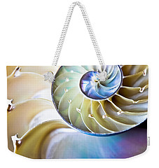 The Beauty Of Nautilus Weekender Tote Bag