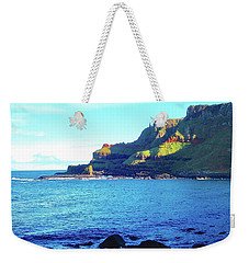 Weekender Tote Bag featuring the photograph The Beauty Of Northern Irelandd by Alan Lakin
