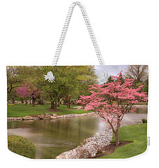 Weekender Tote Bag featuring the photograph The Beauty Of Spring by Angie Tirado