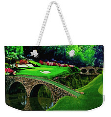The Beauty Of The Masters Cropped Version Weekender Tote Bag