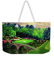 The Beauty Of The Masters Weekender Tote Bag by Ron Chambers