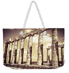 The Beauty Of The Temple Of Poseidon Weekender Tote Bag