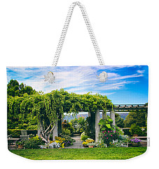 The Beauty Of Wave Hill Weekender Tote Bag by Jessica Jenney