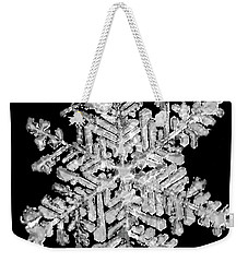 The Beauty Of Winter Weekender Tote Bag by Lauren Radke