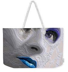 The Beauty Regime Blue Weekender Tote Bag by ISAW Gallery