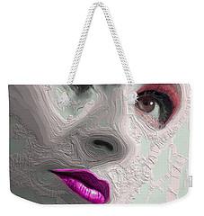 The Beauty Regime Pink Weekender Tote Bag by ISAW Gallery