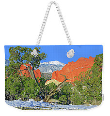 The Beauty That Takes Your Breath Away And Leaves You Speechless. That's Colorado.  Weekender Tote Bag