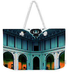 Weekender Tote Bag featuring the photograph The Beaux-arts Court by Chris Lord