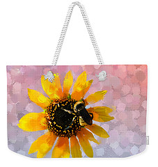 Weekender Tote Bag featuring the photograph The Bee's Knees by Betty LaRue