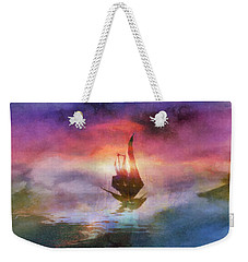 The Belated Boat Weekender Tote Bag