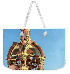 The Bell Tower Of The Temple Of Grand Duke Vladimir Weekender Tote Bag