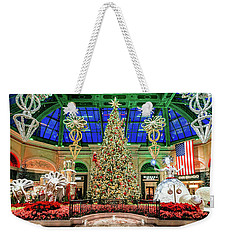 The Bellagio Christmas Tree 2017 2.5 To 1 Ratio Weekender Tote Bag